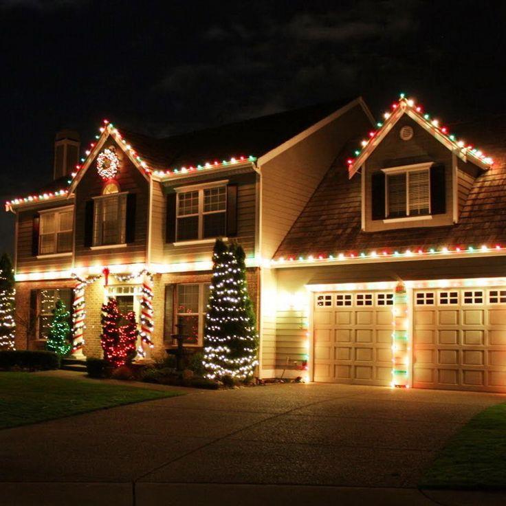 25+ melhores ideias de Outdoor christmas light displays no Pinterest - outdoor christmas lights decorations