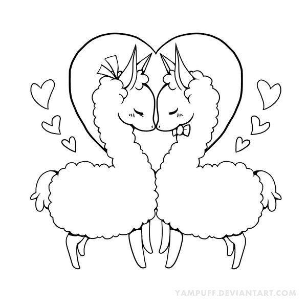 Kawaii Alpaca Drawing At Getdrawings Com Free For Personal Use Animal Coloring Pages Llama Drawing Alpaca Drawing