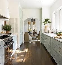 Ideal Galley Kitchen