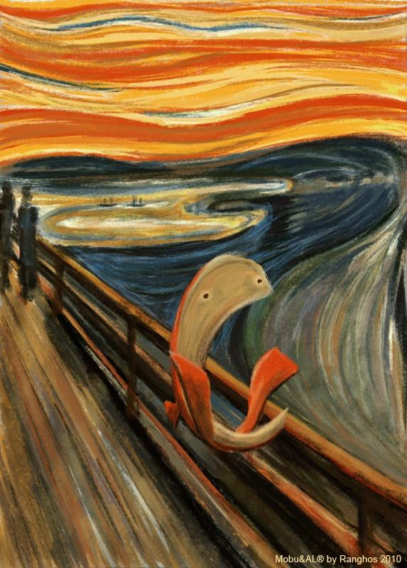 MobuArt - L'Urlo di Mobu / Mobu's Scream