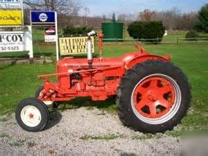 Case dc antique tractor