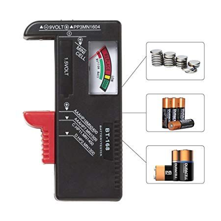 RED SHIELD Universal Battery Tester, Accurate and Portable Battery