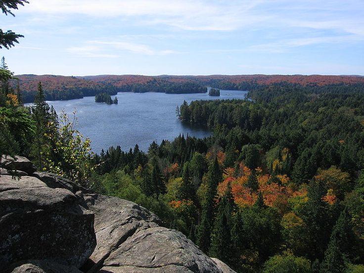Algonquin Cache Lake Lookout