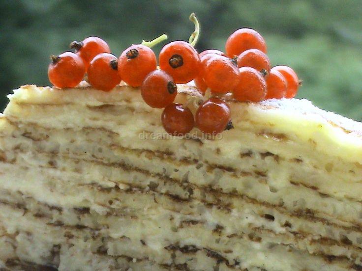Мобильный LiveInternet Блинный торт с творогом и ананасами | Вкусняшки_от_Белоснежки - Вкусняшки_от_Белоснежки |