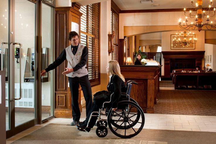 8 chambres pour personnes à mobilité réduite - 8 wheelchair accessible rooms