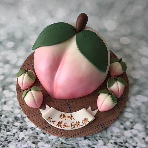 How To Make Longevity Peach Cake