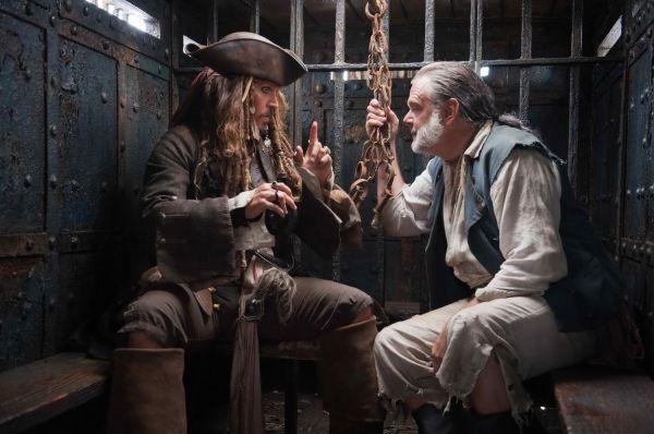 Capitão Jack Sparrow & Sr. Gibbs
