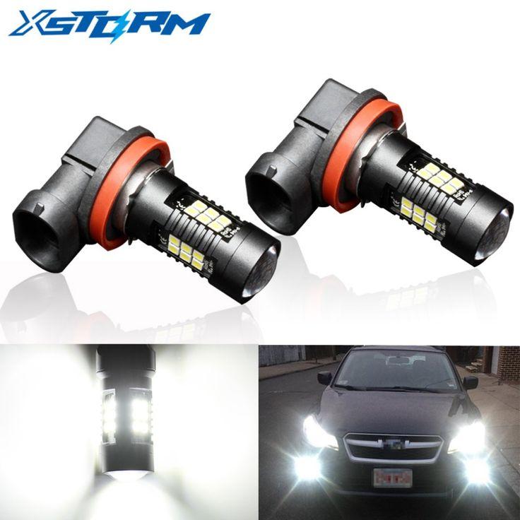 3000+Orders:Price$9.80 2Pcs H8 H11 Led HB4 9006 HB3 9005 Fog Lights Bulb 1200LM 6000K White Car Driving Daytime Running Lamp Auto Leds Light 12V 24V