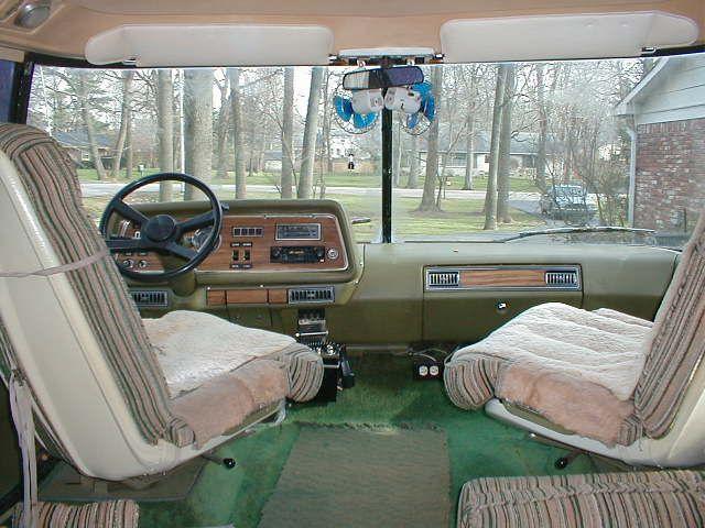 1977 Gmc Motorhome Interior Gmc Interior Gmc Motor