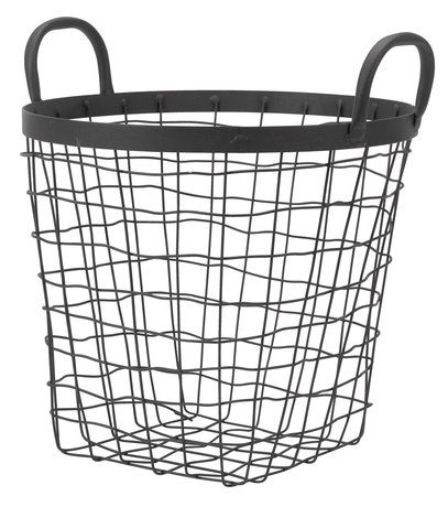 Kurv INGVAR Ø30xH27cm stål | JYSK