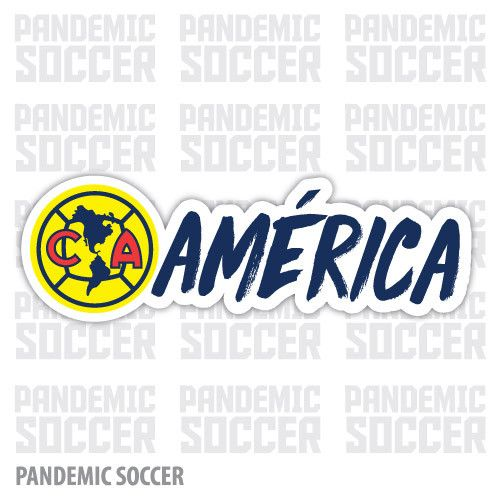 Aguilas America Mexico Vinyl Sticker Decal Calcomania