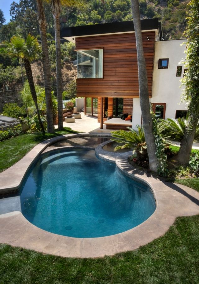 Pool design holz  491 best Dům, bazén / House, Pool ❖❖ ♒ images on Pinterest ...