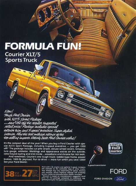 1982 Ford Courier XLT/5 (USA)