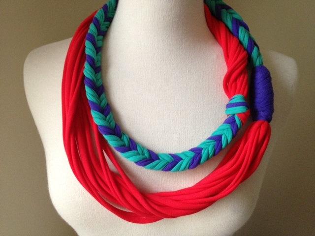 T-shirt summer scarf idea?