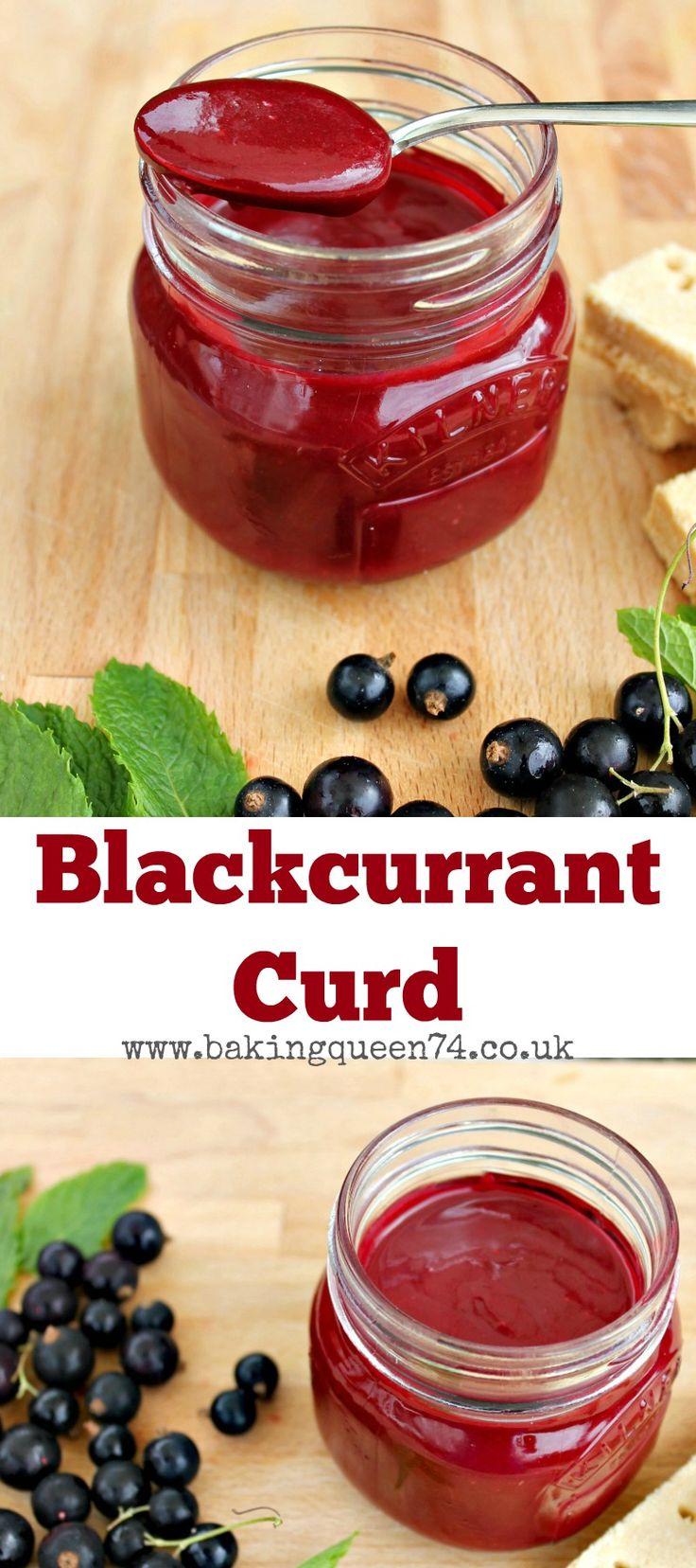 Easy Blackcurrant Curd