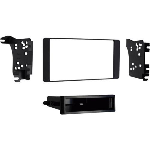 Metra - Radio Installation Kit for 2015 and later Mitsubishi Outlander Sport Vehicles - Matte black