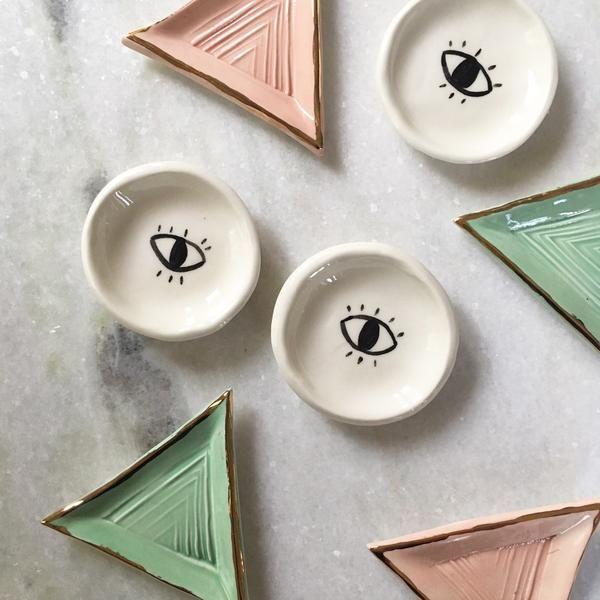 Petites pièces de céramique hinkleville.