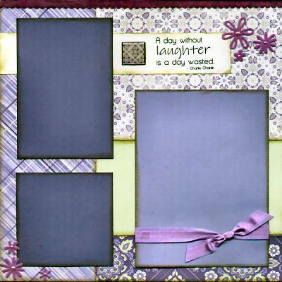 Scrapbook Page Layouts | More Great Sample Scrapbook Page Layouts for You | Captured Moments