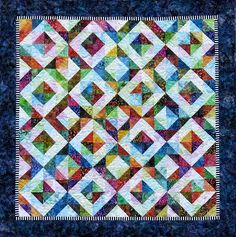 """Better Together"" quilt pattern by Jacqueline de Jonge 