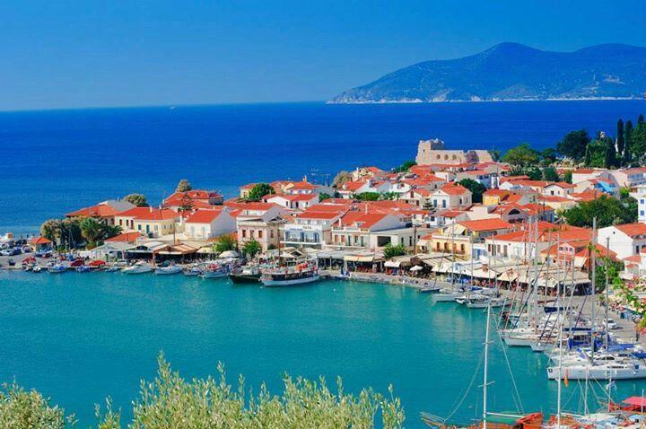Pythagoreio, Samos - where I used to live. So beautiful!