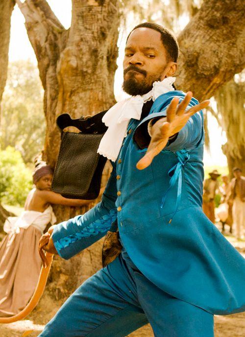 """Jamie Foxx in """"Django Unchained"""" (2013)"""