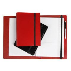 A5 Bonded Leather Compendium | Paper Products Online