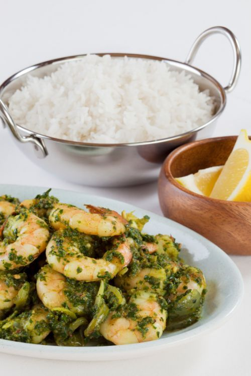 Prawn & Spinach Curry
