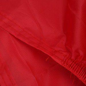 Besmall Bâche MOTO velo Housse de protection Étanche anti-poussière anti-UV pour Moto Couleur Rouge/noir Taille XL: Black Friday,Cyber…
