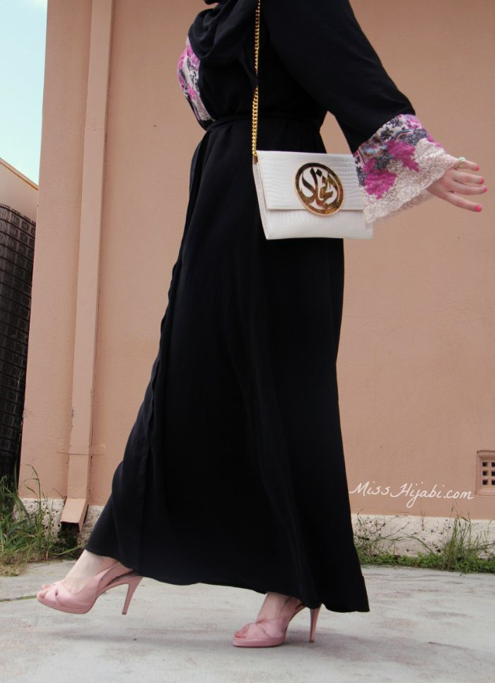 Via Miss Hijabi Hijab Fashion Pinterest Fasion Abayas And Arab Swag