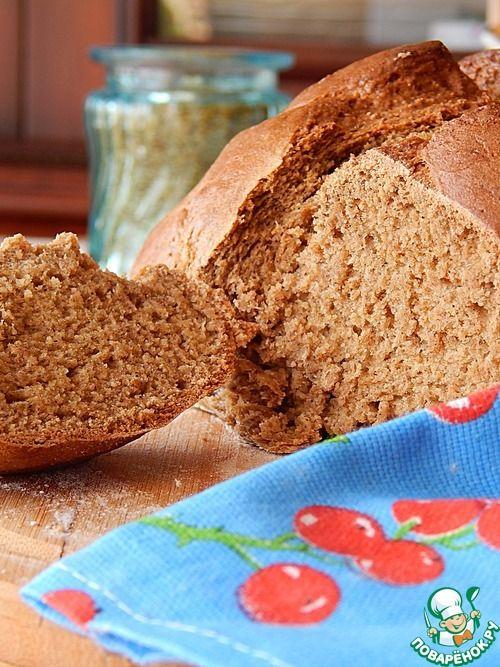 Бездрожжевой овсяной хлеб - кулинарный рецепт