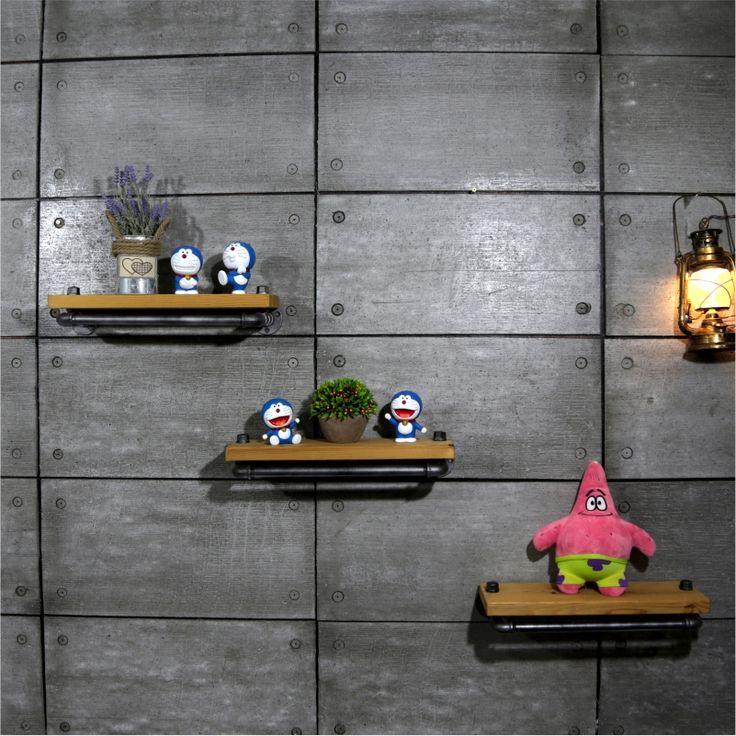 335 best Industrial Loft Metal Pipe Shelf for Bathroom images on ...