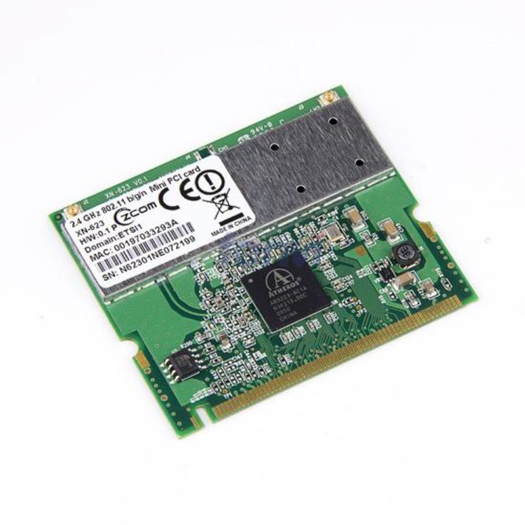 Atheros AR9223 300Mbps 2.4Ghz 802.11 b/g/n Wireless WIFI WLAN Mini PCI Card 300M Laptop Network Adapter