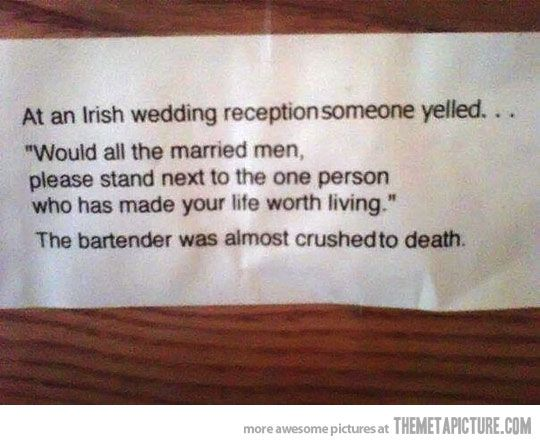 Who knew there were Irish drunk jokes that had not yet been made???