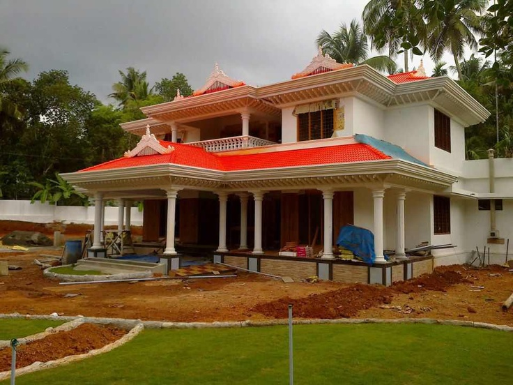 148 best images about kerala home elevations on pinterest for Kerala house elevation models