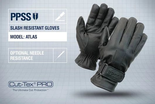 PPSS #SlashResistantGloves (Atlas) with optional #needleresistance