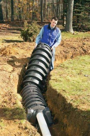 Infiltrator Drain Field Sewage System Septic System