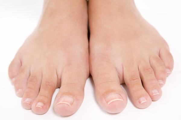 Feet health.