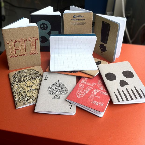 Threadless Scout Books  Handy notebooks from everyone's favorite crowd-sourced company