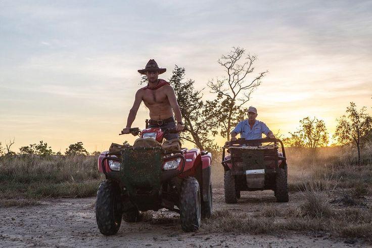 @australian_cowboy and @perishervalleydropbear setting off for a morning of mustering. #ringerforadollar #ringersgotgame #ringerswestern http://ift.tt/1VSP58U
