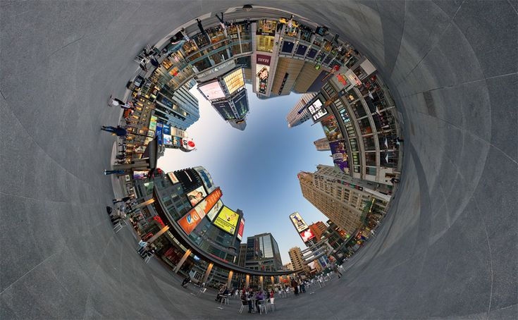 360 Degree City Panorama