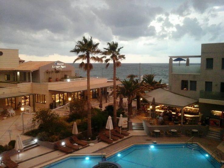 #Pearlhotels Τοp Guest Photo of the Week contest Week to 5/7/2015 - **WINNER** Valentyna Artyushyna. Title: ''Kalispera!' (Pearl Hotels, Crete, from above). https://www.facebook.com/SentidoPearlBeach/photos/pcb.849163391797989/849162345131427/?type=1