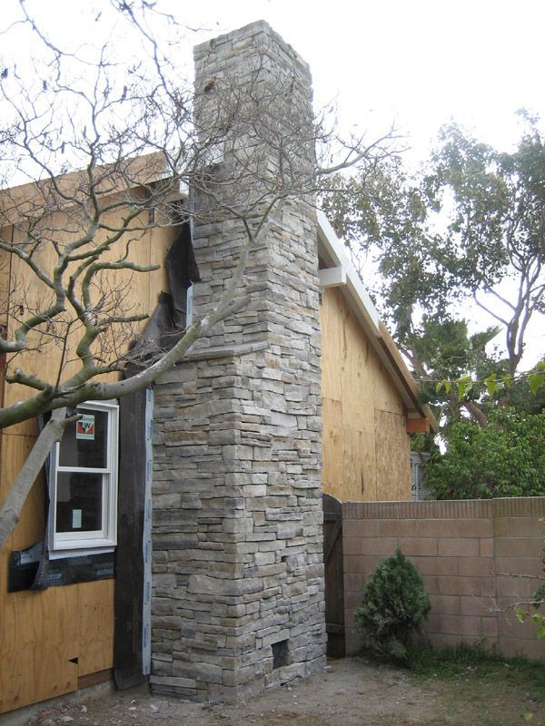Attractive Stone Chimneys