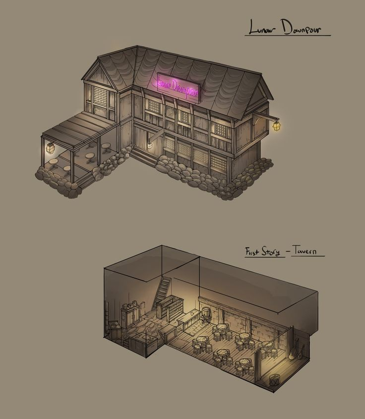 Project Shadow Building Concept, Erel Maatita on ArtStation at https://artstation.com/artwork/project-shadow-building-concept