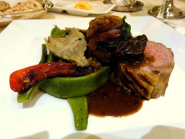 Dinner at Hotel Restaurant Hohenzollern in Ahrweiler