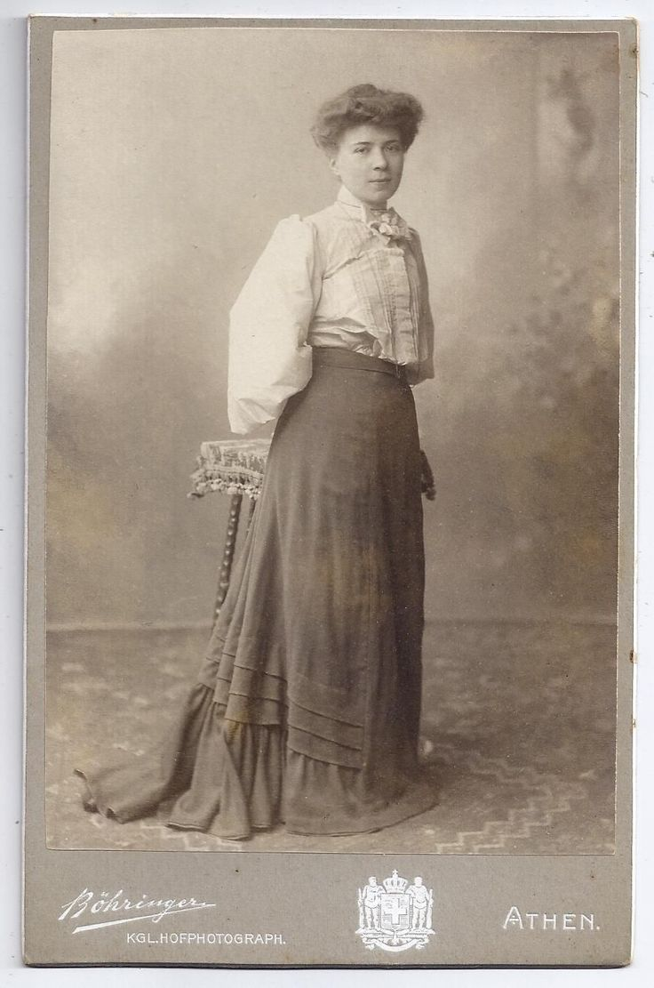 Greece Athens Woman Posing Antique Cabinet Photo Portrait BY Bohringer 1905 | eBay