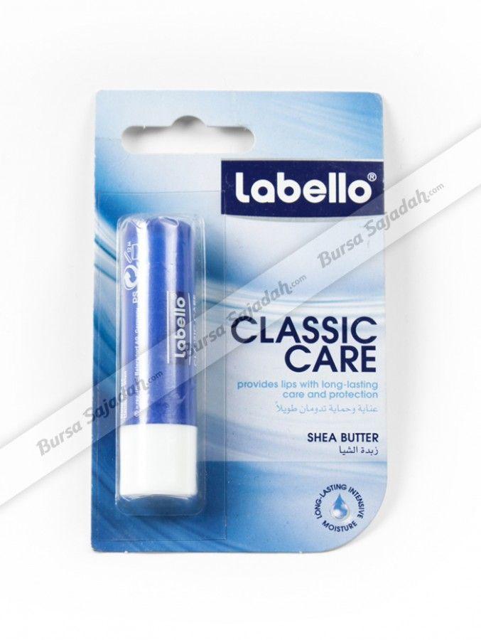 Dibuat dengan formula yang mengandung shea butter, Labello Classic Care secara efektif mampu melindungi bibir Anda agar tidak kering dalam waktu yang lama. Tidak hanya itu, lip balm transparan yang ideal untuk oleh-oleh haji dan pemakaian sehari-hari ini juga memberikan sensasi halus & lembut pada bibir Anda!