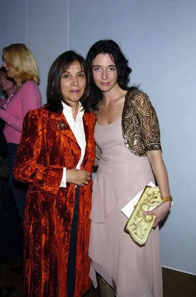 Olivia Harrison & Mary McCartney..