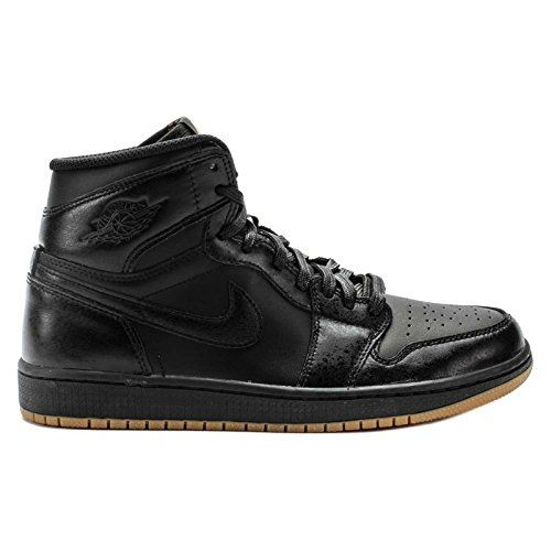 nike air jordan 1 retro high og basketballschuhe schwarz. Black Bedroom Furniture Sets. Home Design Ideas