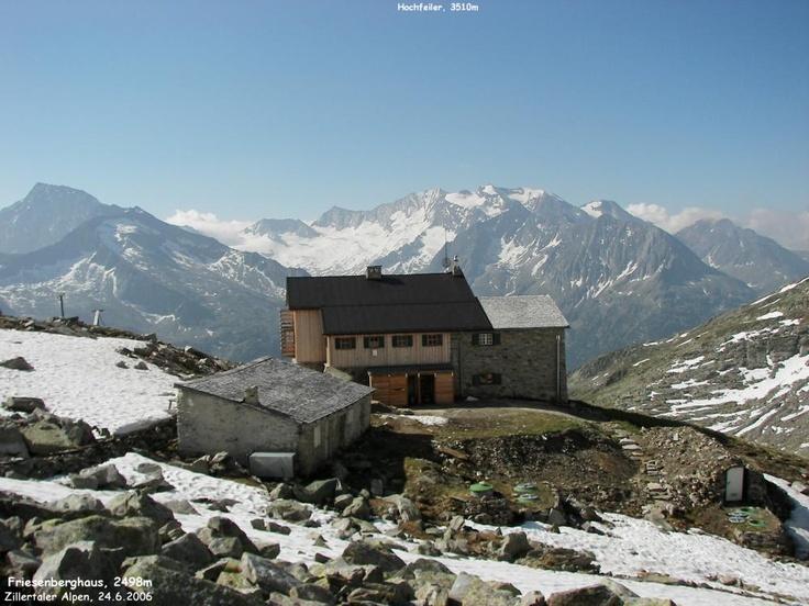 Friesenberghaus, Zillertal, Austria