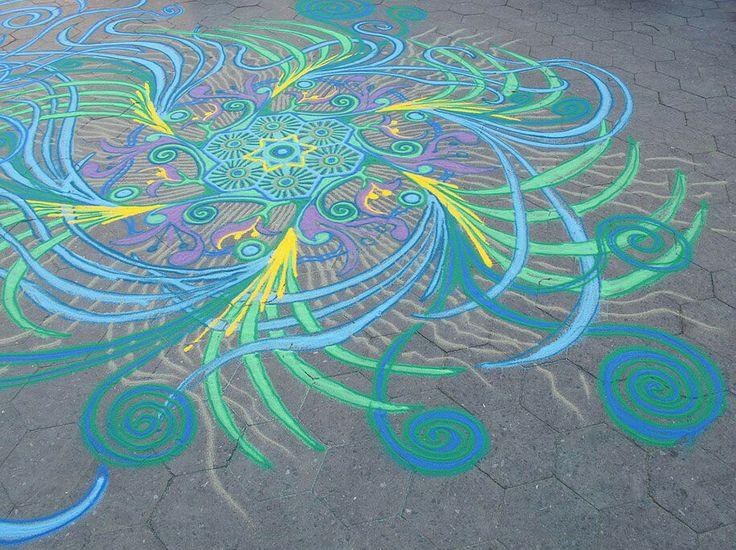 Chalk and ground